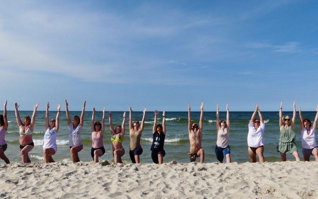 Wakacje z jogą i gongiem nad morzem 2021